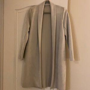 Zara Collection Long Coat - Nude